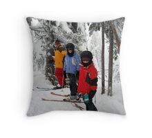 A Family Adventure Throw Pillow
