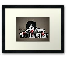 Graffiti 024 Framed Print