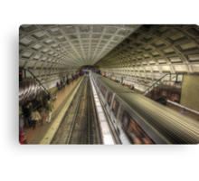 Smithsonian Metro Station Canvas Print