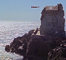 Cliff Diver by ClayRobeson