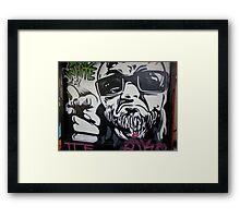 Graffiti 043 Framed Print