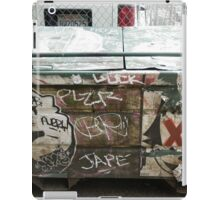 Graffiti 044 iPad Case/Skin