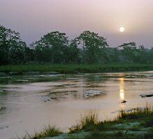 Reu River Sunrise by ClayRobeson