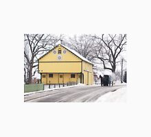 Yellow Barn with Horse and Buggy Unisex T-Shirt
