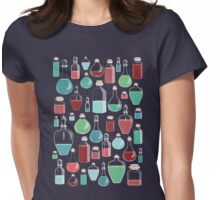 Bottles Womens Fitted T-Shirt