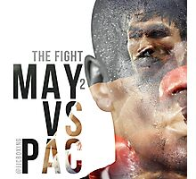 "Boxing - Mayweather vs Pacquiao ""The Fight"" Photographic Print"