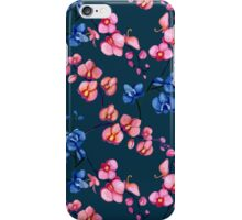 Orchids. Watercolor iPhone Case/Skin