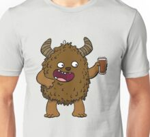 Brown Ale Beer Monster Unisex T-Shirt