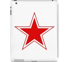 Roundel of the Soviet Air Forces, 1945-1991 iPad Case/Skin