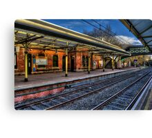 Cullercoats Metro Station Canvas Print