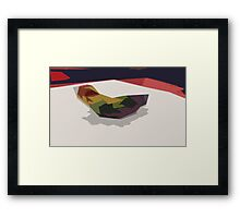 Puzzle-Piece Framed Print