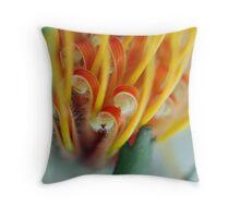 Cardi Folium Macro Throw Pillow