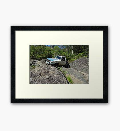 Carnage Canyon GMD Framed Print