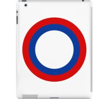Roundel of the Imperial Russian Air Force, 1910-1917 iPad Case/Skin