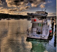 Not There - Newport - The HDR Series by Philip Johnson