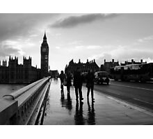 Westminster Bridge Photographic Print