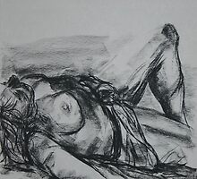 Reclining Nude 4 by LynneHerry