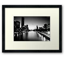 Melbourne City Framed Print