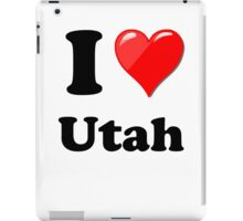 I Love Utah iPad Case/Skin