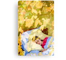 Dream reader Canvas Print