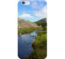 Stream Running down the mountain iPhone Case/Skin