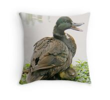 In Fine Voice Throw Pillow