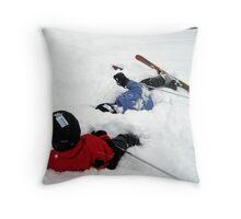 Powder Fun! Throw Pillow