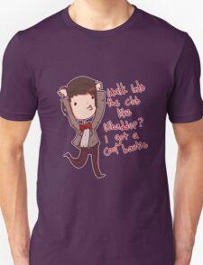 DW: Cool Bowtie Unisex T-Shirt
