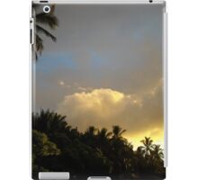 Portfolio: Clouds at sunset over Ke'ei, Big Island iPad Case/Skin
