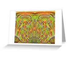 Art Nouveau - Pattern VI Greeting Card