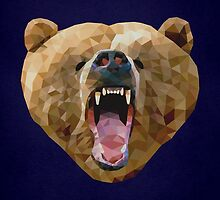 Bear Polyportrait by fohkat