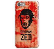 Chimpan ZED iPhone Case/Skin