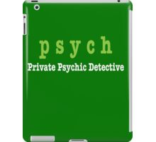 PSYCH Private Psychic Detective Agency iPad Case/Skin