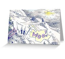 WOO, SAYING PRAYERS FIRST(C2011) Greeting Card