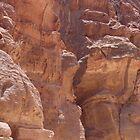 Petra Rock Formation by AlvinBurt