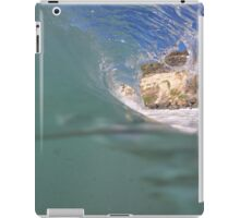 Portfolio: Inside the barrel at Swamis, Encinitas iPad Case/Skin