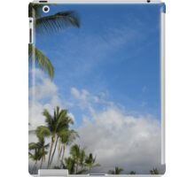 Portfolio: Afternoon palm trees, Kona, Big Island iPad Case/Skin