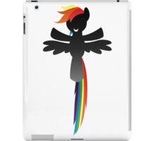 Monochrome Rainbow Dash iPad Case/Skin
