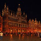 Grand Place at Night, Brussels, Belgium by atomov