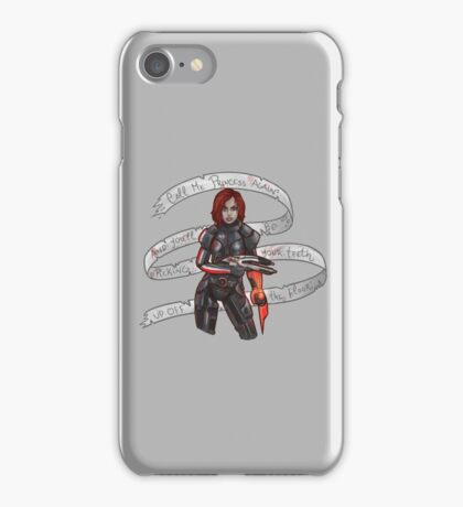 Commander Shepard iPhone Case/Skin