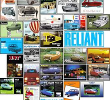 80 years of Reliant 3-wheelers by car2oonz