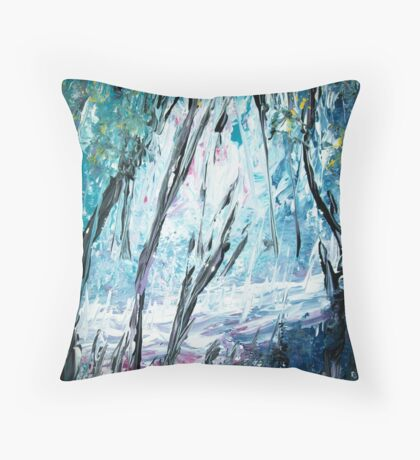 The Enlightened One Emerges  II Throw Pillow
