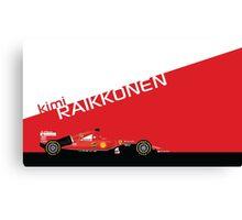 2015 Formula 1 Scuderia Ferrari SF15-T Kimi Raikkonen Canvas Print