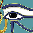 The Eye of Ra: Wadjet Lower Egypt by Aakheperure