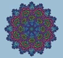 Bluemungus mandala by Matthew Sergison-Main