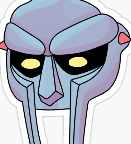 MF Doom Sticker