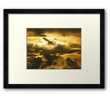 Irish Sea Sunset Framed Print
