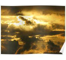 Irish Sea Sunset Poster