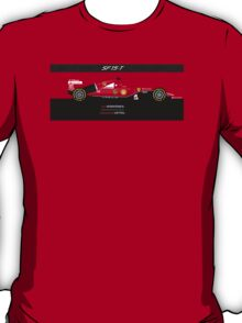 2015 Formula 1 Scuderia Ferrari SF15-T with carbon fiber bar T-Shirt