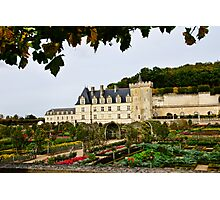 Villandry Castle - Loire Valley - France Photographic Print